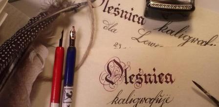 Oleśnica kaligrafuje dla Lewego
